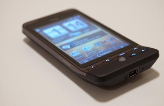 Mi HTC Hero.