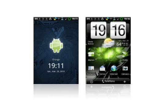 Capturas de pantalla de Android